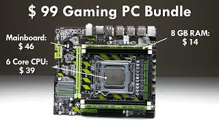 $99 LGA 2011 Motherboard 6Core CPU 8 GB RAM Budget Bundle
