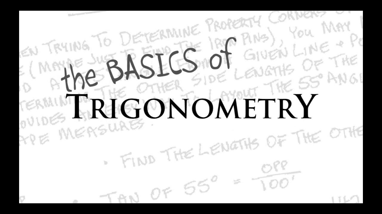 The Basics Of Trigonometry Review And Tutorial