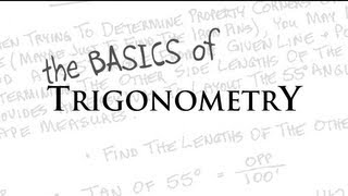 the BASICS of TRIGONOMETRY (Review and Tutorial)