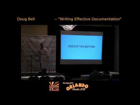 Writing Effective Documentation