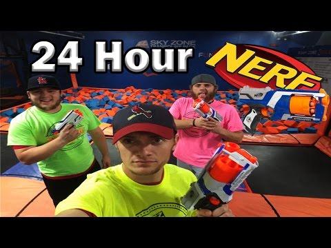 24 Hour Sky Zone Nerf War