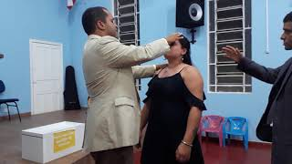 Libertação mulher cheia demônio  Pastor Vanderson trovão