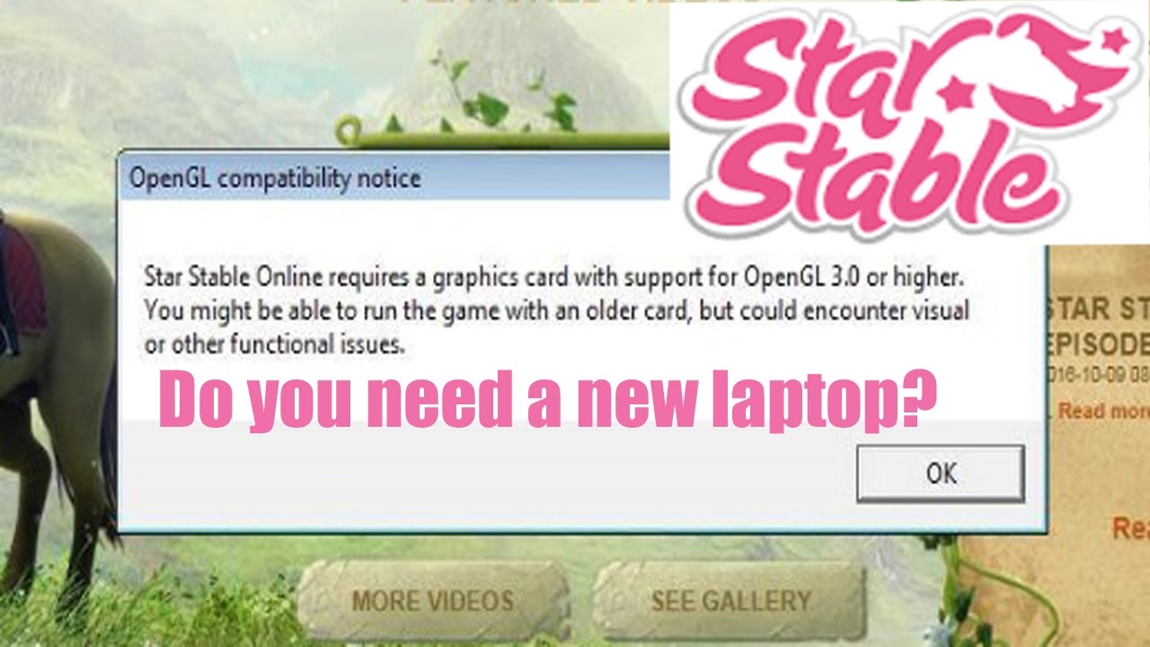 Star Stable Launcher - Bad News for Many Players