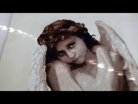 Золотое руно вышивка крестом ангел
