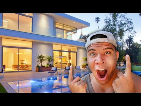 NEW HOUSE TOUR!! ($4,000,000 MANSION)