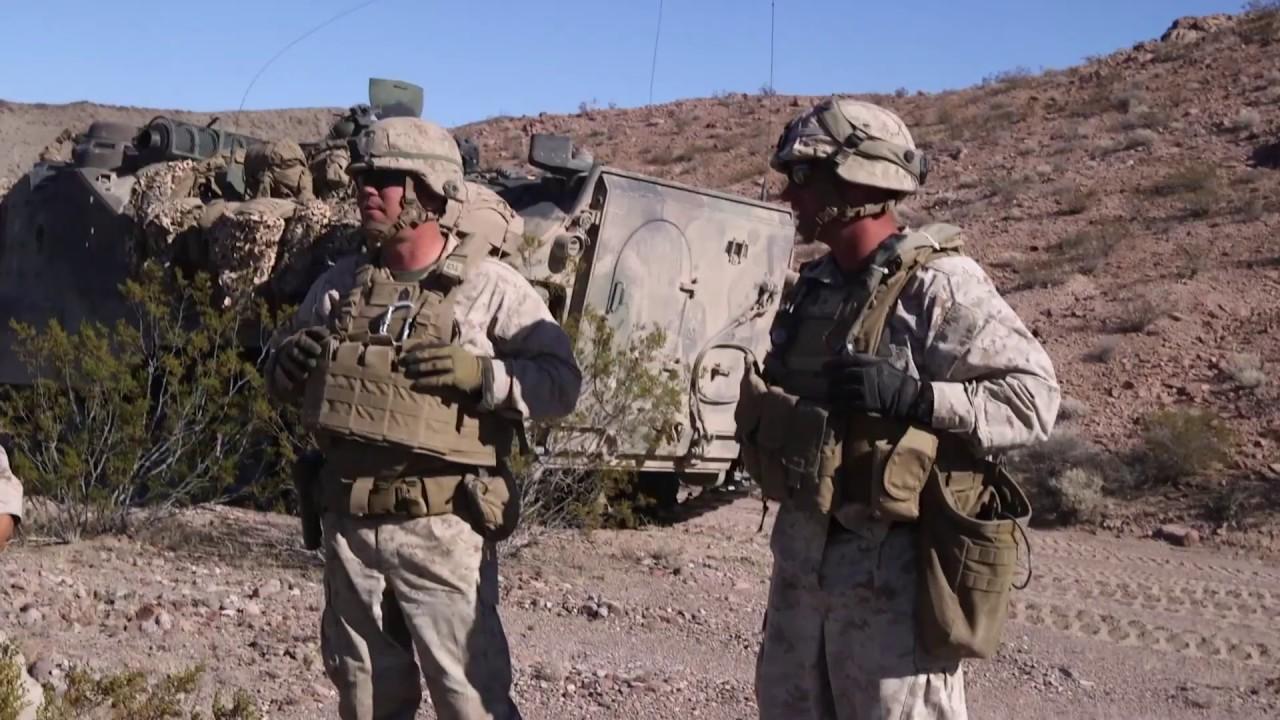 U.S. Marines – MAGTF Warfighting Exercise Resupply Point