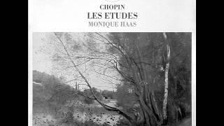 MONIQUE HAAS plays CHOPIN 12 Etudes Op.10 (1976)