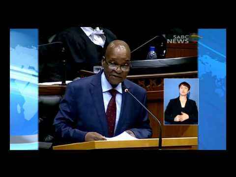 President Jacob Zuma's SONA 2014 speech