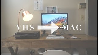 CONVERTING VHS TO A DIGITAL FILE // MAC & PC // CHEAP & EASY!!