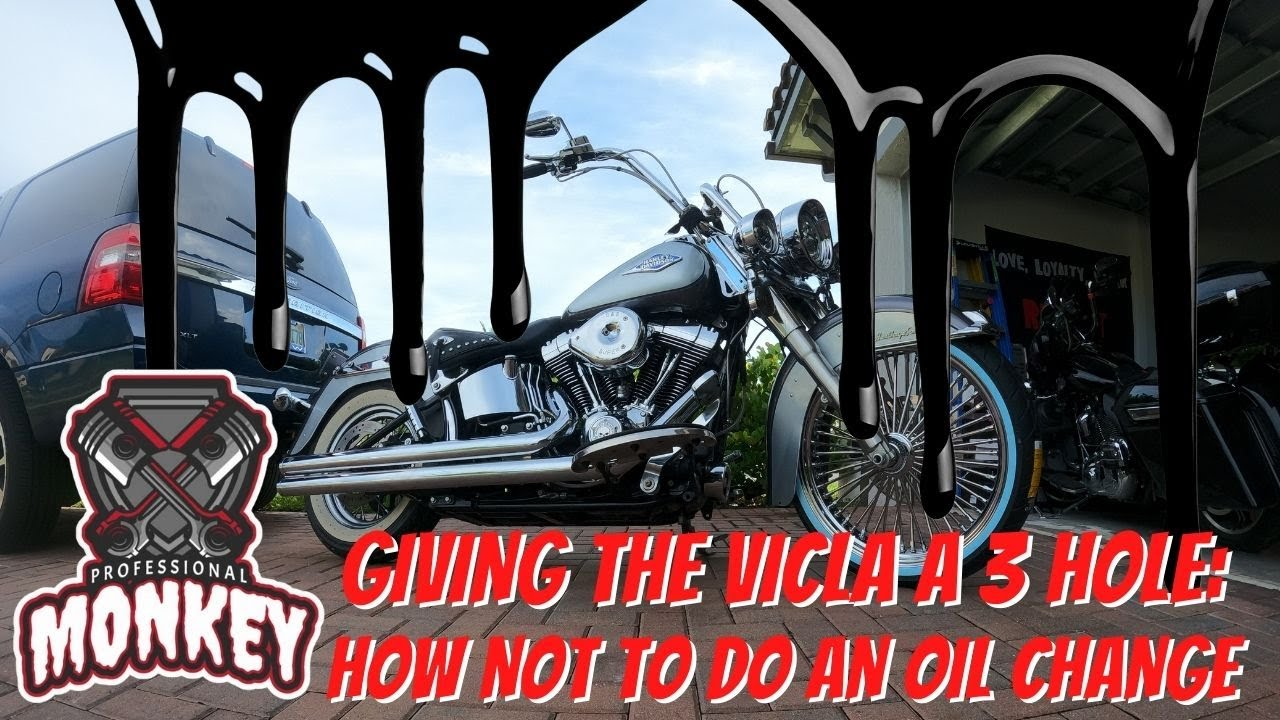 """Well, the entire garage is now """"lubed,"""" but the Cholo bike got a 3 hole... Learn from my mistakes!!!"""