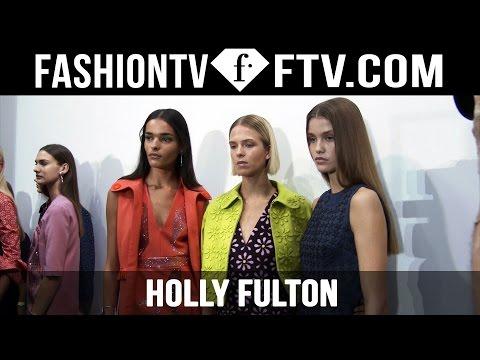 Makeup at Holly Fulton Spring 2016 London Fashion Week   LFW   FTV.com