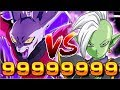 99 MILLION MAX DAMAGE! DYSPO KILLS ZAMASU NUKE TEST Dragon Ball Z Dokkan Battle