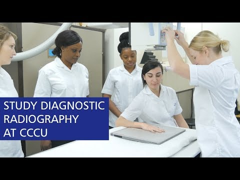 Study Diagnostic Radiography At Canterbury Christ Church University