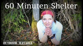 Shelterbau in 60 Minuten - Outdoor Bavaria-Vanessa Blank - How to