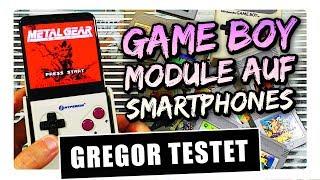 Gregor testet SmartBoy ~ GameBoy-Module auf Smartphone zocken! (Review / Test)