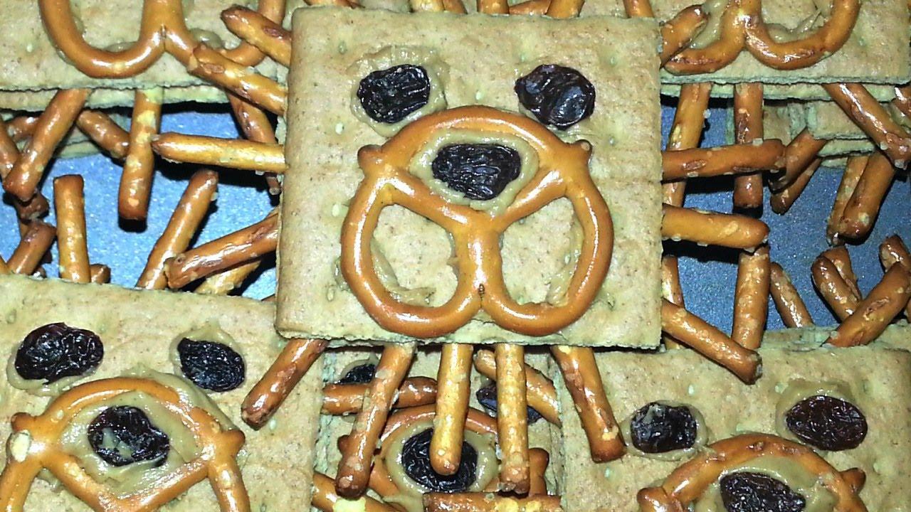 Make Fun Lion Graham Cracker Kids Snacks Diy Food