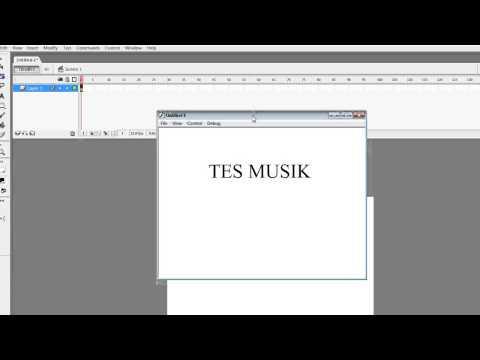 Cara Masukkan Sound/Musik di Macromedia Flash 8