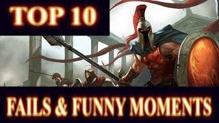 Ram´s Top 10 Fails & Funny Moments Montage | League of Legends Montage by DPoR LP