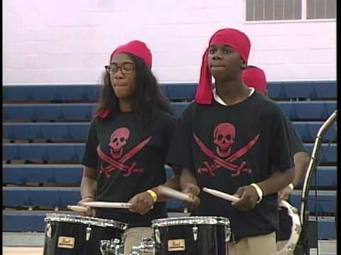2016 Colleton County Middle School Concert Percussion