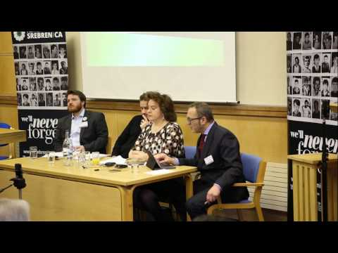 Dr. Eric Gordy, Samantha Hunt and Andy Lawrence on 'delivering education after genocide'