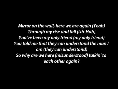 Lil' Wayne - Mirror ft. Bruno Mars Instrumental_Karaoke Lyric on the screen HD