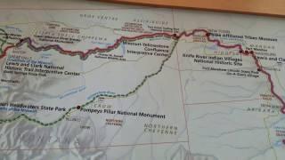 Lewis & Clark Trail Map