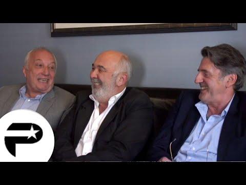 """Daniel Auteuil, Gérard Jugnot et François Berléand en interview pour la sortie de """"Entre Amis"""""""