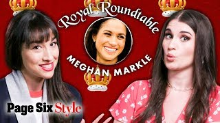Meghan Markle Not Worthy of The Crown Jewels? | Royal Roundtable | Page Six Style