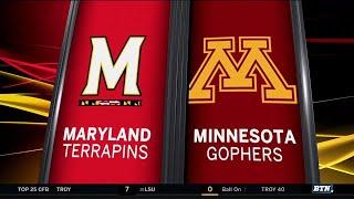 Maryland At Minnesota - Football Highlights