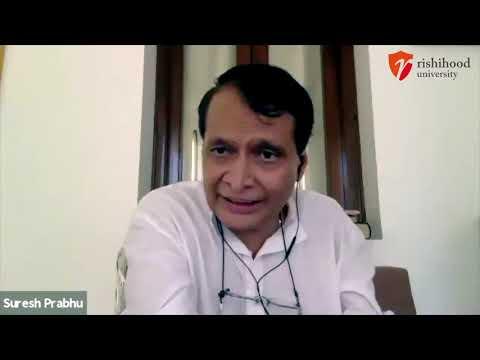 Suresh Prabhu's Welcome Message to Rishihood Team