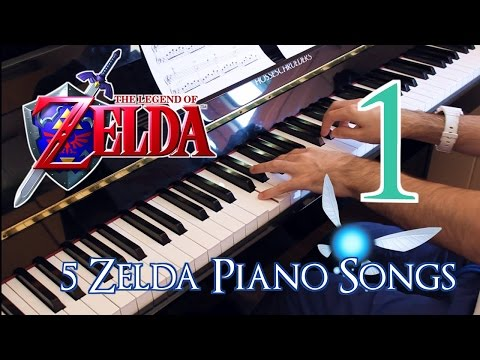 "🎵 [1/2] Five ""The Legend of Zelda"" Piano Songs ~ Played by Moisés Nieto"