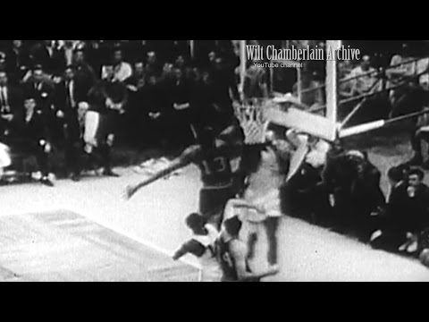 Wilt Chamberlain CATCHES a Bill Russell DUNK! G5 NBA Finals (blocks two dunks in first quarter!)