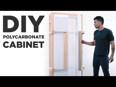 How To Make A Cabinet Out Of Polycarbonate
