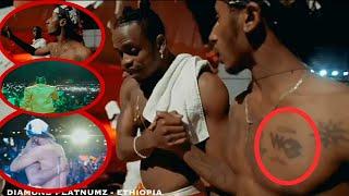 EXCLUSIVE: Shabiki Wa Diamond Platnumz Ethiopia Ajichora Tattoo Ya WCB Kifuani