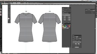Illustrator - T-Shirt Tutorial -Teil 2 ( German / Deutsch )