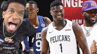 ZION WILLIAMSON vs RJ BARRETT! New Orleans Pelicans vs New York Knicks - Full Game Highlights