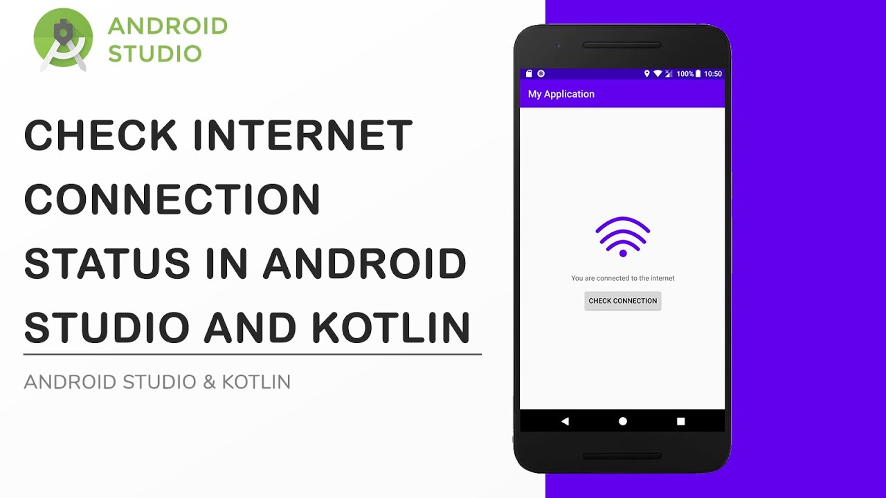 Android Studio and Kotlin | Check internet connection