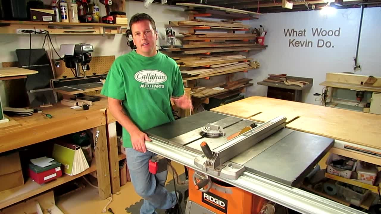 Ridgid r4512 tablesaw review home depot youtube greentooth Image collections