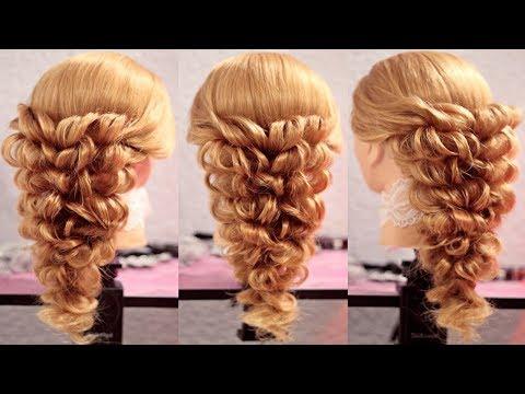 Причёска с помощью резинок - Верхний оборот - Красота! - Hairstyles by REM