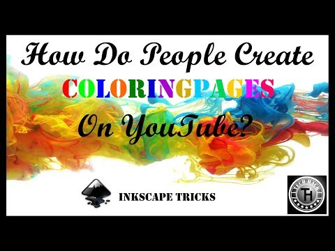 How do people create COLORING PAGES in VideoScribe? (Steps in description)