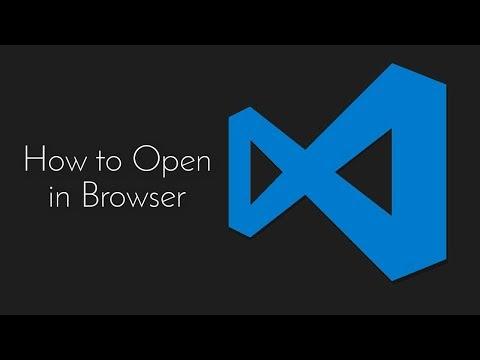 VS Code Open In Browser