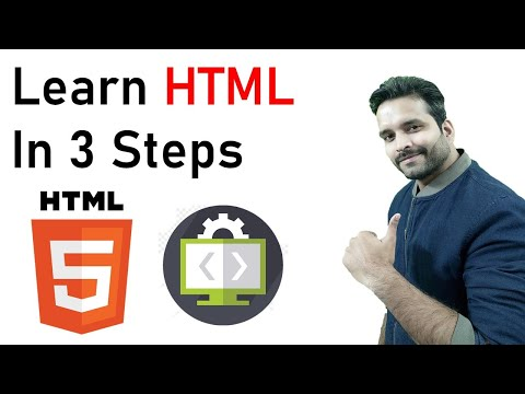 Learn HTML In 3 Steps