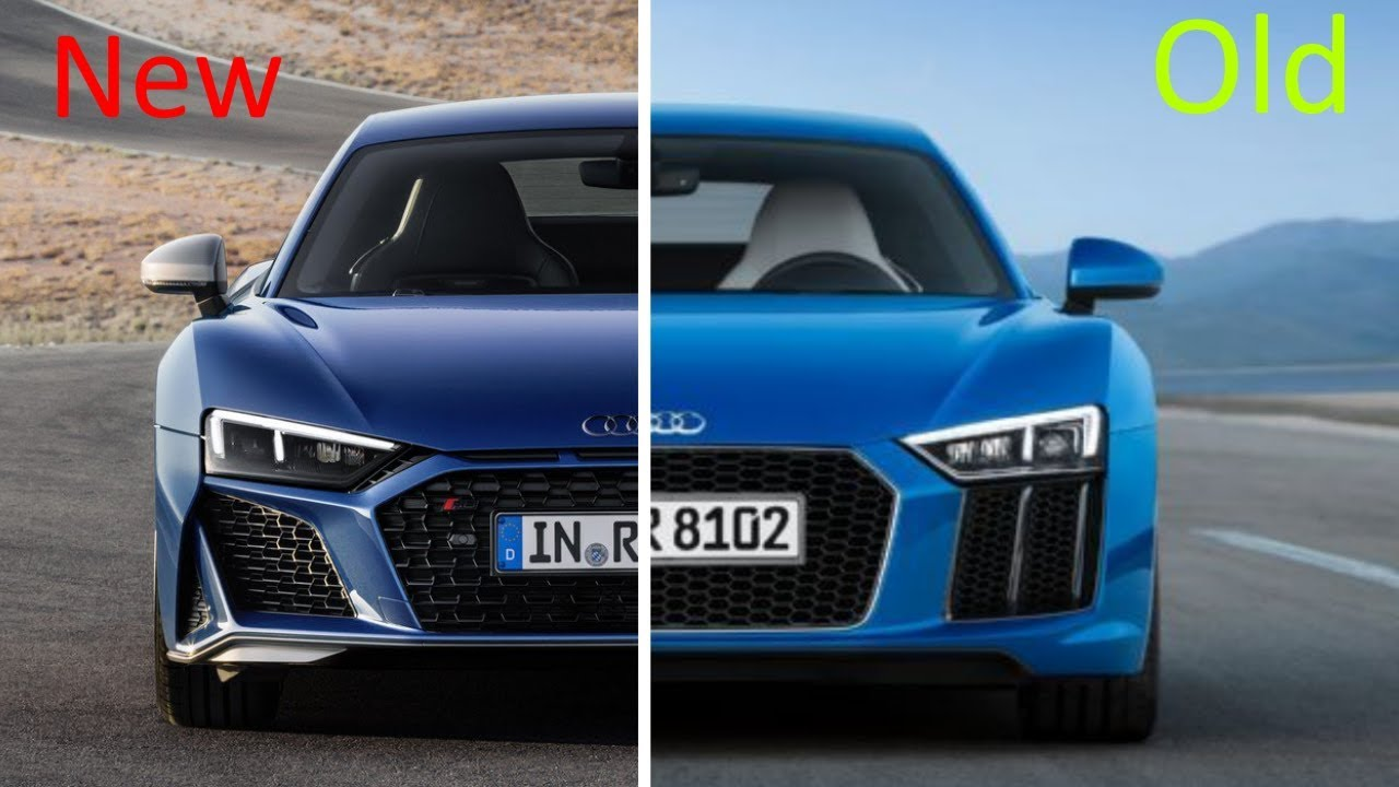 new 2019 audi r8 coupe vs old 2017 audi r8 coupe youtube. Black Bedroom Furniture Sets. Home Design Ideas