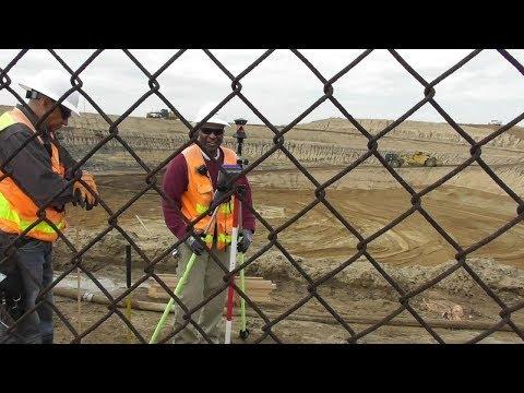ARGO DRAIN SUB-BASIN FACILITY being Built Los Angeles Playa Del Rey 3-5-2019 Surveyor