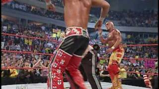 Hulk Hogan & Shawn Michaels vs. Muhammad Hassan & Daivari 4/4