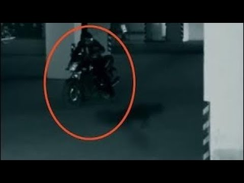 Parking Garage Security Camera Footage | Real Ghost Caught Live On CCTV Camera, / GHOST ON