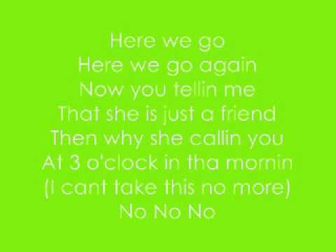 Lyrics To Here We Go Again - Trina Ft. Kelly Rowland