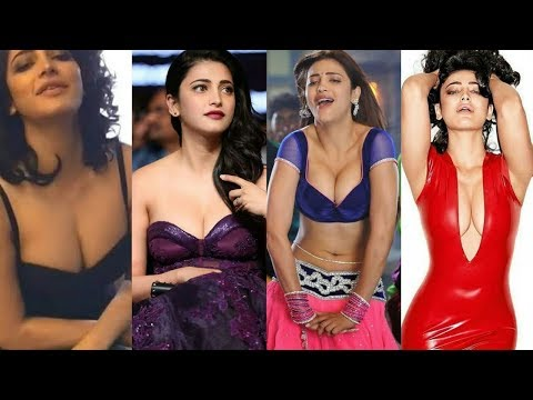 Shruthi Hassan hot bouncing cleavage compilation thumbnail