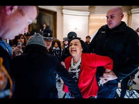Georgia State Senator ARRESTED Protesting Election Theft