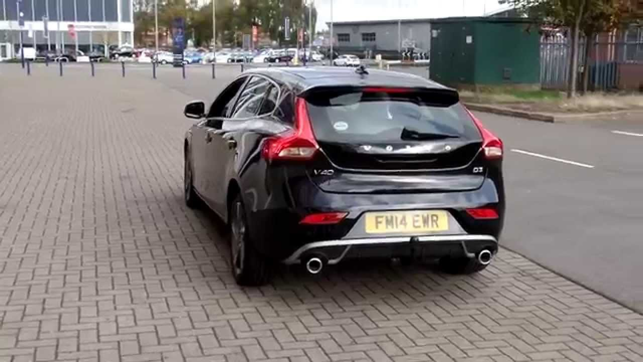 used volvo v40 d3 r design nav manual fm14ewr youtube. Black Bedroom Furniture Sets. Home Design Ideas